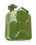 Grön jerrycan Royaltyfri Fotografi