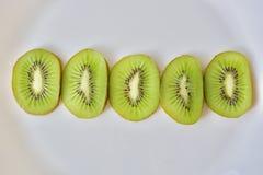 Grön kiwikedja Arkivfoton