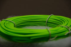 Grön klipsk linje Royaltyfria Foton