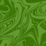 Grön konstnärlig färgpulvermodell Vektorillustratör EPS 10 royaltyfri illustrationer