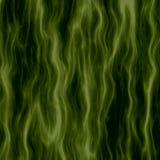 Grön korrugerad bakgrundsöversikt royaltyfri illustrationer