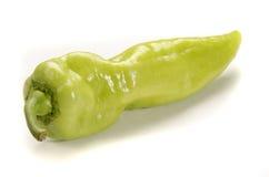 Grön kryddig paprika från Ungern Royaltyfria Bilder