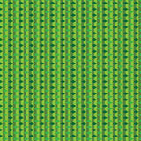 Grön kubmodell Arkivbilder