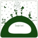 grön kull Royaltyfria Foton