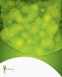 grön läkarundersökning för bakgrund Royaltyfri Fotografi