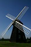 grön lacey windmill Arkivfoton