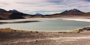 Grön lagun Arkivfoton