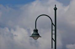 Grön Lamppost Royaltyfri Fotografi