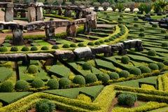 grön landskapdesign Arkivbilder
