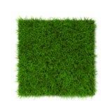 grön lawn för gräs stock illustrationer
