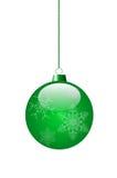 Grön leksak Arkivfoton