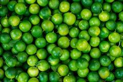 Grön limefruktbakgrund Arkivbilder