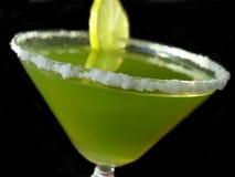 grön limefruktmargarita Arkivfoto