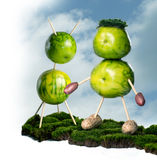 grön living royaltyfri fotografi