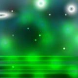 Grön mörk bakgrund vektor illustrationer