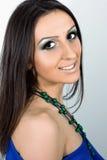 Grön makeup Royaltyfri Foto