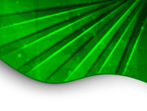 grön mall för affär Royaltyfri Bild