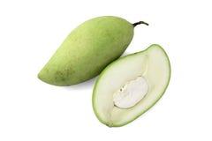 Grön mango Royaltyfri Bild