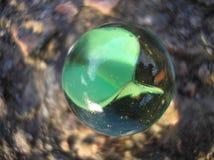 Grön marmor - en annan värld Arkivbild