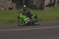 grön maskinhastighet Royaltyfri Foto