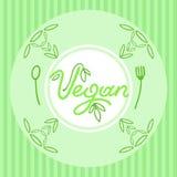 Grön maträtt Royaltyfria Bilder