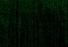 Grön matrisbakgrund Royaltyfri Fotografi