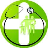 grön medicin vektor illustrationer