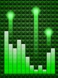 grön melodi Royaltyfria Bilder