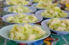 grön melon Fotografering för Bildbyråer
