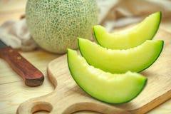 grön melon arkivfoto