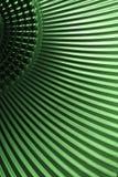 grön metallisk textur Royaltyfri Foto