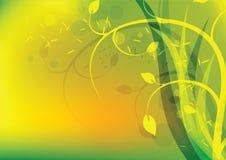 Grön miljö stock illustrationer