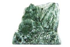 grön mineral för klor arkivbild