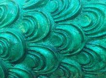 grön modell Arkivfoto