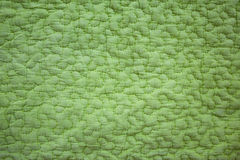 Grön modell på tyg Royaltyfria Foton