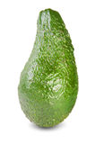 Grön mogen avokado Arkivbilder