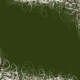 grön nätt swirl för bakgrund Arkivfoto