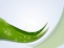 grön natur för bakgrund stock illustrationer