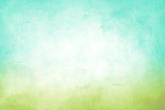 Grön och blå Grungebakgrund Arkivfoto