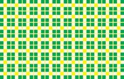 Grön och gul modell Textur från romben för - plädet, borddukar, skjortor, klänningar, papper, sängkläder, filtar, täcken och anna royaltyfri illustrationer