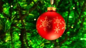 Grön och röd julbakgrund