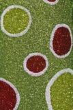 Grön och röd julbakgrund Royaltyfria Bilder