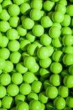 grön paintball för bollar Arkivfoton