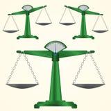 Grön pannavåg Arkivfoto