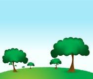 grön park vektor illustrationer