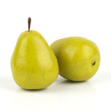 grön pear Arkivbilder
