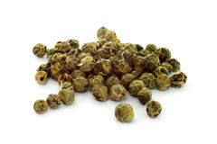Grön peppercorn Royaltyfri Fotografi