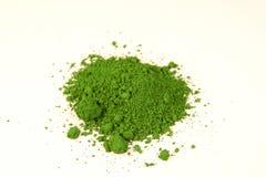 grön pigment för krom fotografering för bildbyråer
