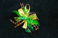 Grön pilbåge Fotografering för Bildbyråer