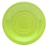Grön platta Royaltyfri Fotografi